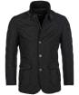 Men's Barbour Lutz Quilted Jacket - Black