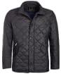 Men's Barbour Flyweight Chelsea Quilted Jacket - Black