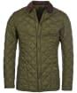 Men's Barbour Heritage Liddesdale Quilted Jacket - Olive
