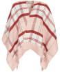 Women's Barbour Kilmore Tartan Serape - Pink / Hessian