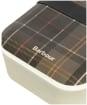 Barbour Bamboo Lunch Box & Cutlery Set - Classic Tartan