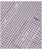 Men's R.M. Williams Collins Shirt - Navy / Burgundy / White