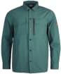 Men's Barbour International Slipstream Overshirt - Dark Pine