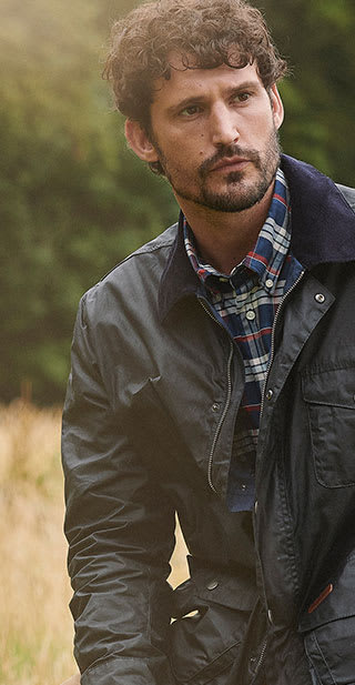 Mens Barbour AW19 The Shirt Department