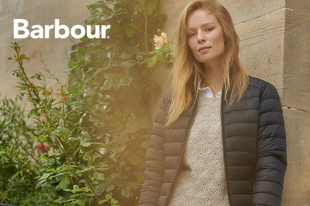 New Barbour Arrivals