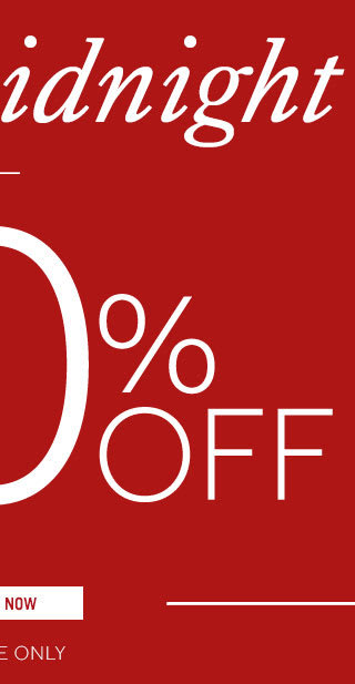 Extra 10% off sale ends midnight