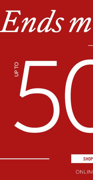 Black Friday | Up to 50% off