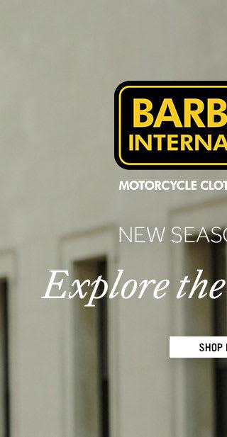 Men's Barbour International New Arrivals