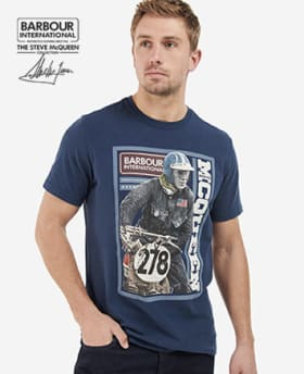 Mens Barbour International Steve McQueen Collection