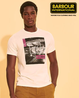 Shop Barbour International Trajan Wax Jacket