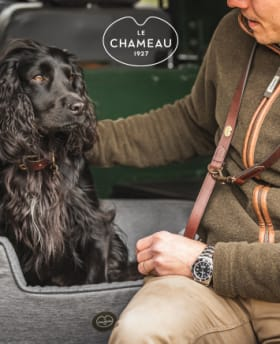 Shop Barbour Wool Touch Tartan Dog Lead