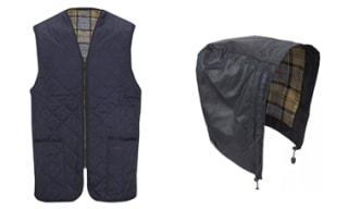 Barbour Jacket Liners & Hoods